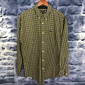 Chaps Plaid Casual Button Down ⭐️